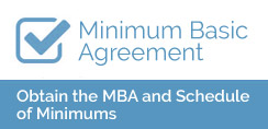 Minimum Basic Agreement - Obtain the 2017 MBA and Schedule of Minimums
